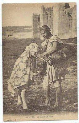 الڭراب (ساقي الماء) بفاس قديما