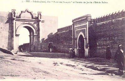 باب ساحة بوجلود أو باب الفرنسيين سابقا